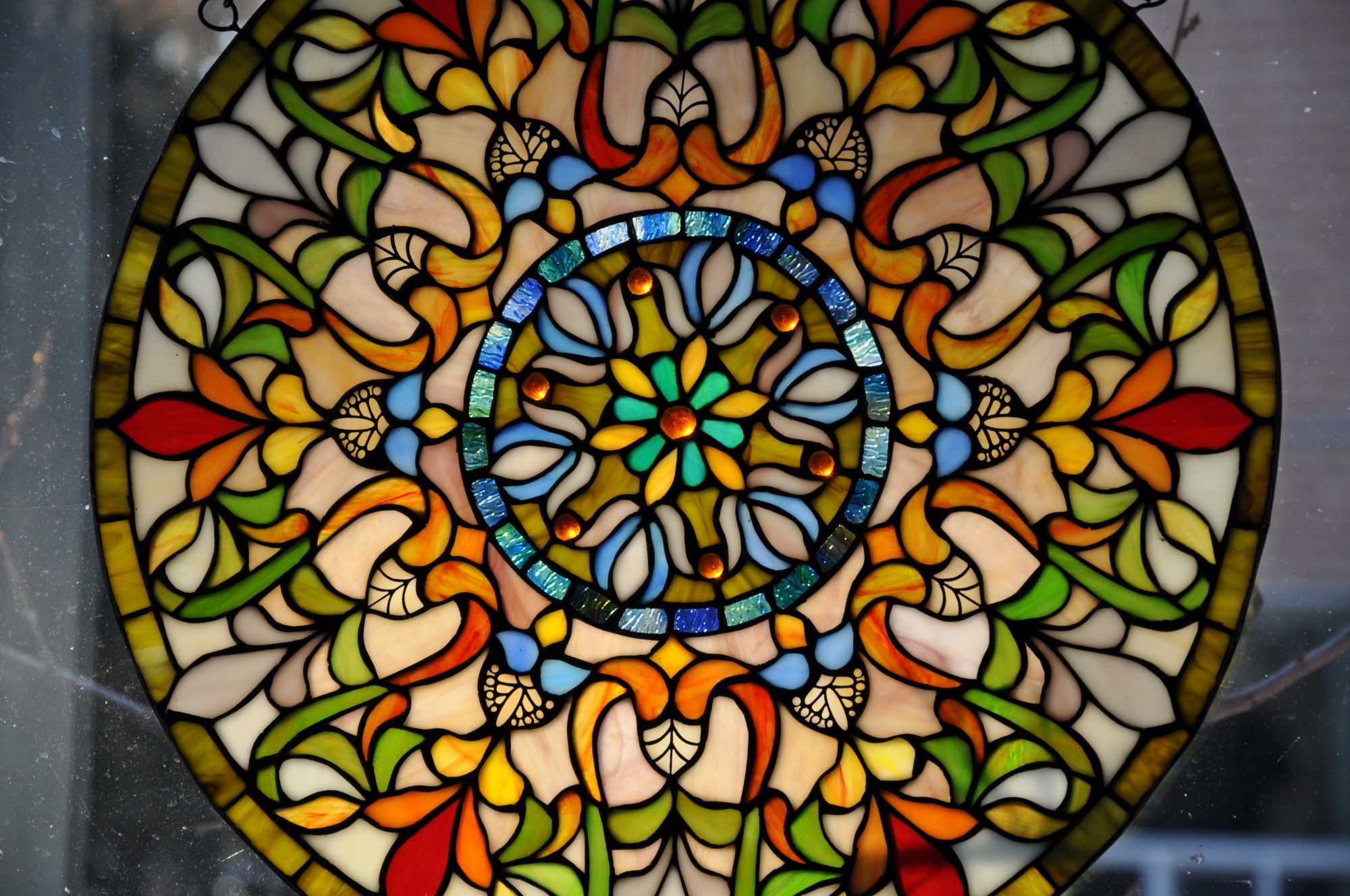 Easter Stained Glass Windows